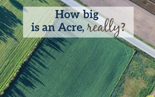 how big is an acre
