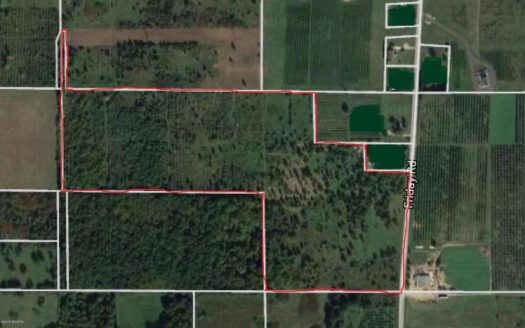 over 40 acres of land for sale in Coloma