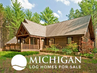 log homes & cabins for sale Michigan