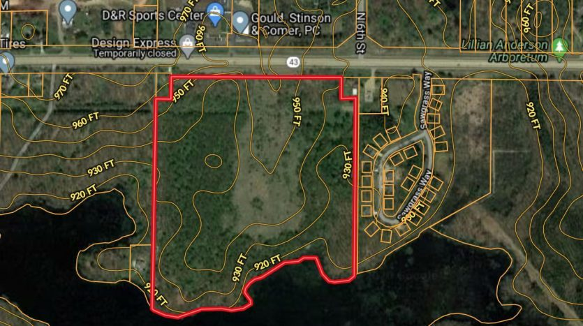 commercial land for sale with lake frontage in Kalamazoo